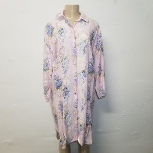 VICTORIA'S SECRET Pink PJ Dress M / L